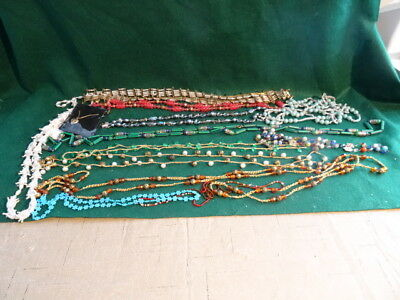 Lot of Vintage & Modern Costume Jewelry Necklaces