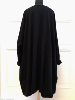 Les Moutons Noirs Sweatshirt Kleid neu OS XL d blau Oversize Big Shirt Dress NWT