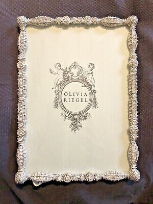 Olivia Riegel 5x7 Frame Diamonds Asbury New Beautiful Picture Frame Princess