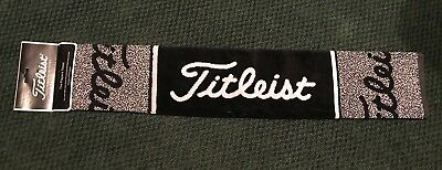 TITLES The Players GOLF TOWEL Cotton Pro Size 16 x 32 BLACK WHITE New