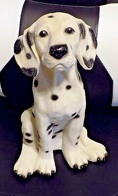 "Collectible 10 1/2"" Tall Dalmatian Dog  Puppy Animal Figurine"