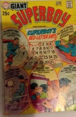 Superboy #165 Giant Size Reprint Of 1St Krypto Ow/w Pages Bronze Age
