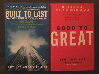 Good To Great & Built To Last NEW by Collins, Jim Hardback Book