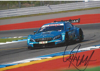 Gary Paffett - Mercedes-AMG C63 DTM - 2018 - orgin sign!!!!