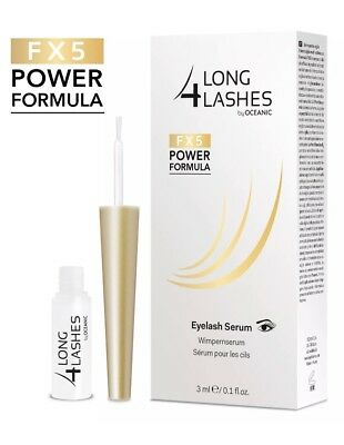 Long4Lashes FX5 Wimpernserum Wimpern 3ml by Oceanic, Eyelash Serum