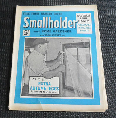 Smallholder and Home Gardener Magazine, August 19th 1961