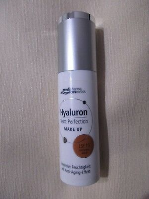 Hyaluron Teint Perfection Make UP LSF 15 Natural Gold 30ml Medipharma Cosmetics