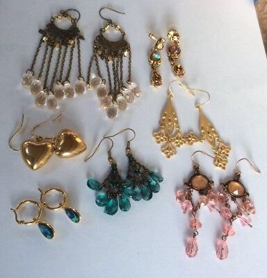 Job Lot Modern Style Ear Rings Stocking Fillers