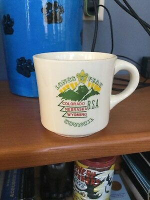 """Longs Peak"" Boy Scout Coffee Mug"