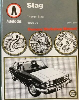 Triumph Stag Owners Manual 1970-1977