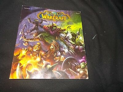 rare World of Warcraft Offical Magazines number 4 great condition with poster