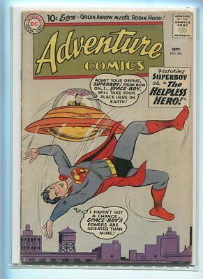 Adventure Comics #264 Solid Grade Great Ufo Cover Gem