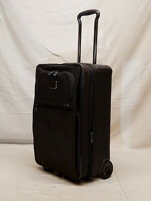 """NEW TUMI ALPHA 2 BROWN INT'l 2-WHEELED EXPANDABLE 22"""" CARRY ON STYLE 22020"""