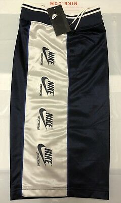 e86154be1a59 NIKE Authentic NSW NIKE SPORTSWEAR ARCHIVE KNIT Long Summer Shorts Medium