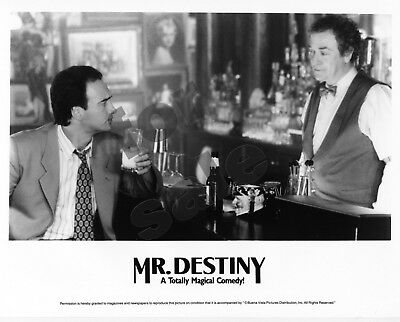 Mr. Destiny Movie Still B&W Photo James Belushi Michael Caine