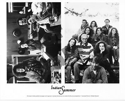 Indian Summer Movie Still B&W Photo Alan Arkin Diane Lane Elizabeth Perkins