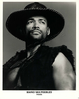 Posse Movie Stills 2 B&W photos Mario Van Peebles Stephen Baldwin