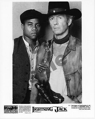 Lightning Jack Movie Still B&W Publicity Photo Cuba Gooding Jr Paul Hogan