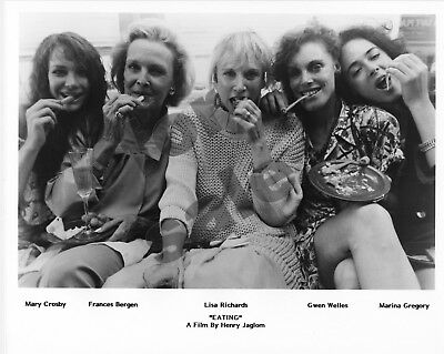 Eating Movie Still B&W Photo Henry Jaglom Lisa Richards Frances Bergen Original