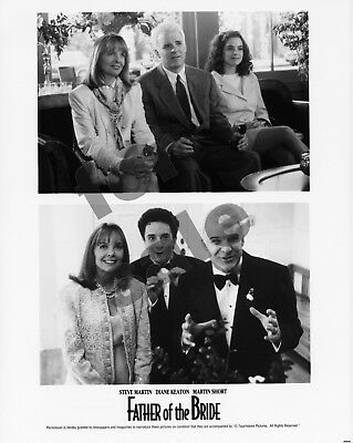 Father of the Bride Movie Still BW Photo 3 Color Slide Steve Martin Diane Keaton