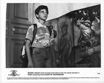 Flight of the Innocent Movie Still 5 B&W Photo Francesca Neri Manuel Colao
