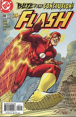 The Flash #200 (2003) Dc Comics Nm- Blitz Conclusion! 4Th Appearance Of Zoom