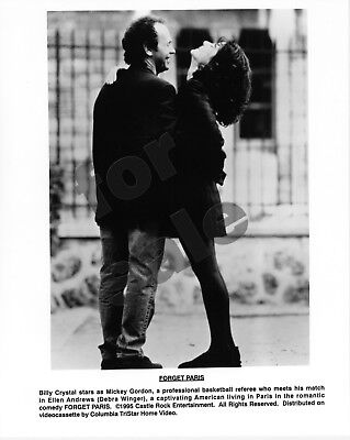 Forget Paris Movie Still 3 B&W Photos Billy Crystal Debra Winger Joe Mantegna