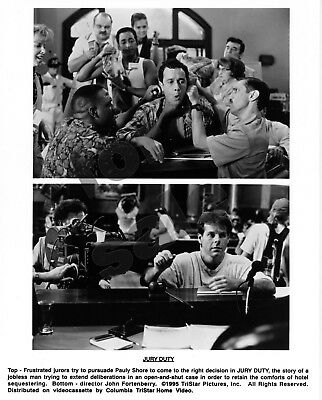 Jury Duty Movie Still 2 B&W Photos Pauly Shore Tia Carrere