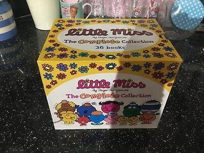 fab Little Miss The Complete Collection 36 Paperback Books By Roger Hargreaves