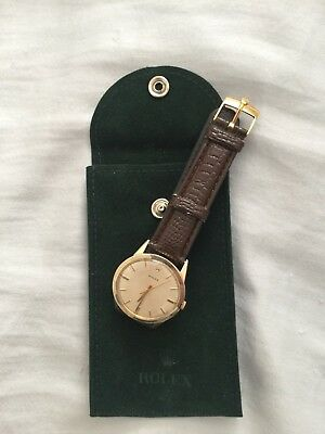 Rolex Vintage, Very Rare, Circa 1960's, Gold Filled, Cal 1520, Automatic End Sun