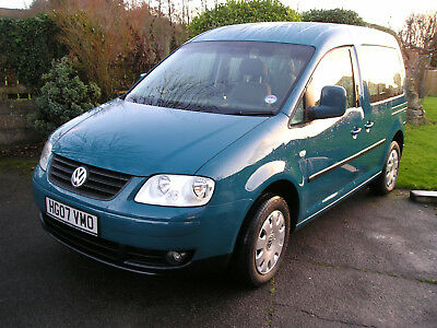 2007 Volkswagen Caddy 1.9Tdi Automatic 41,000 Miles Wheelchair Accessible