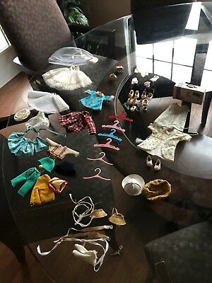 """Lot Of Vintage Madame Alexander Ginny Doll Items For 8"""" Doll"""