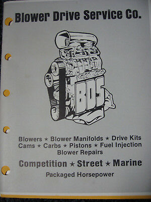 1987 Blower Drive Service Catalog & Price List + Rod Action by Brian Brennan