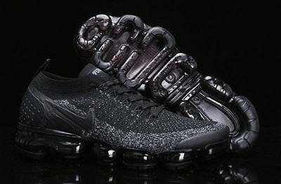 Nike Air Max VaporMax Flyknit 2 Sneakers Trainer Running Shoes Black