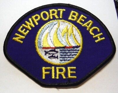 Newport Beach California Fire Dept Patch Unused
