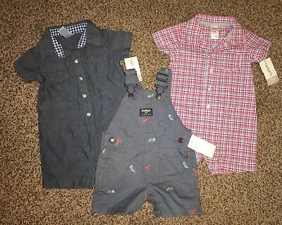 3 Pc. Lot Of Baby Boy Size 9 Months Outfits - NWT