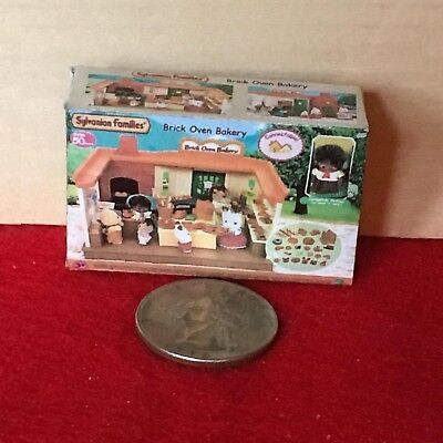 "1:6 scale Handmade mini for 11""-12"" dolls - Sylvanian Families Brick Oven Bakery"