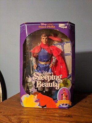 Disney's Sleeping Beauty Prince Phillip Doll (1991) New in the box