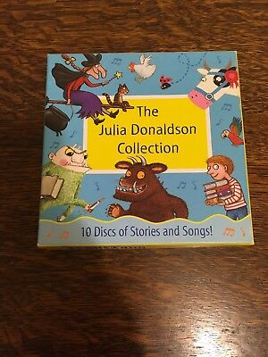The Julia Donaldson Collection - (10 CD-Audio Boxset) - Rarely Used Excellent