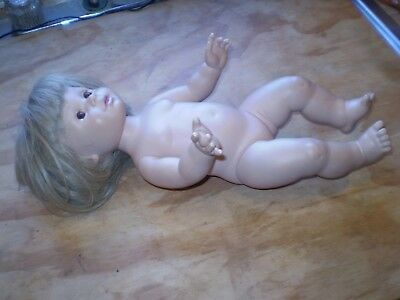 Baby So Beautiful~1995 Playmates Toys~J S & A~Short Blonde Hair Brown Eyes