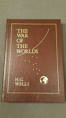 The War Of The Worlds H.G. Wells Easton Press Science Fiction Book
