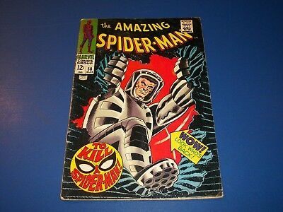 Amazing Spider-man #58 Silver Age Smythe