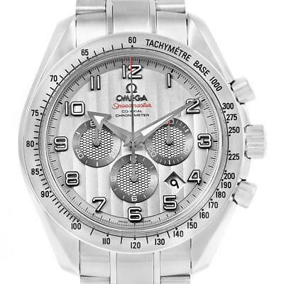 Omega Speedmaster Broad Arrow Silver Dial 321.10.44.50.02.001 Box Cards