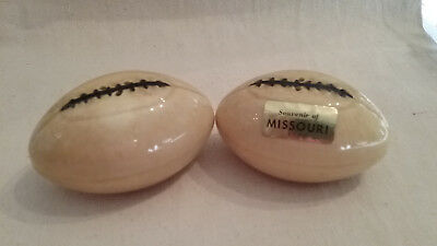 Missourri football salt and pepper shakers