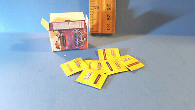Barbie Doll 1:6 Kitchen Food Miniature Handmade Box Cream Of Wheat with Packets