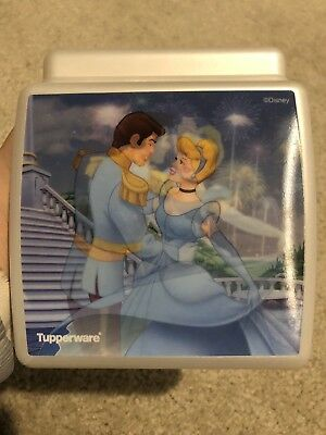 Disney Cinderella Tupperware Sandwich Container