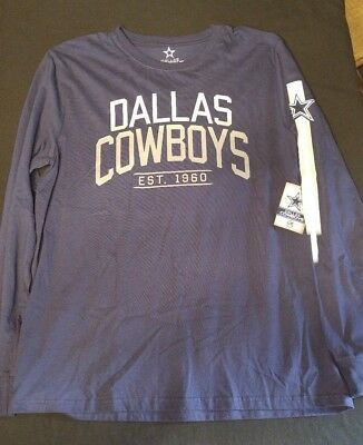 Men's Large Dallas Cowboys Long Sleeve Shirt - NWT!