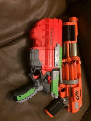 NERF Vigilon And Dart Tag Guns Lot Of 2