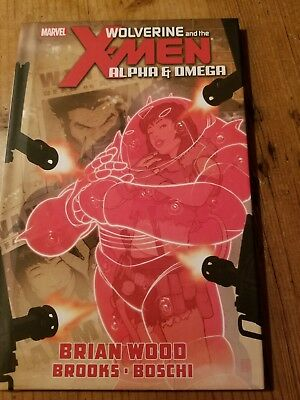 Wolverine and the X-men Alpha And Omega Book Marvel Comics
