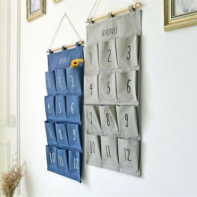 Wall Hanging Storage Bags Hanging Holder Organizer Sundry Storage Pocket GH